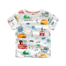 Children T shirt for Boys Clothing 2017 Brand Baby Boys Summer Tops Tee Shirt 100% Cotton T-shirt Kids Clothes Boy T-shirt 2-10Y