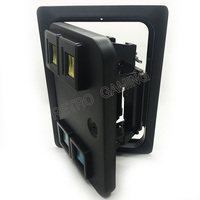 American style coin selector door with microswitch for Amusement arcade casino slot game cabinet Coin operator machine part