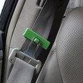 2 PCS Cinto de Segurança Do Carro Clipe Grampo Clips Coloridos Para O Dispositivo De Tensão Da Correia Do Assento Do Veículo Automóvel Fácil Instalar 6 Cores 1409
