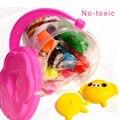 1 PCS 8 cores inteligente Kit de ferramentas de argila plasticina definir brinquedos Playdough modelagem argila mole espuma DIY plasticina brinquedo educativo