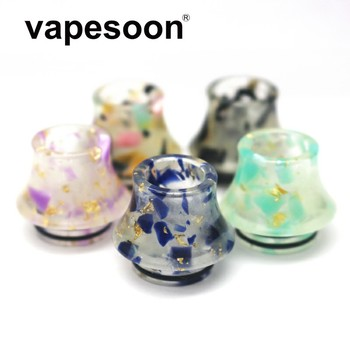 10pcs Vapesoon Mouthpiece 810 Luminous Drip Tip for TFV12 Prince / TFV12 / V8 X-BABY / V8 BIG BABY Tank Vaporizer Accessory