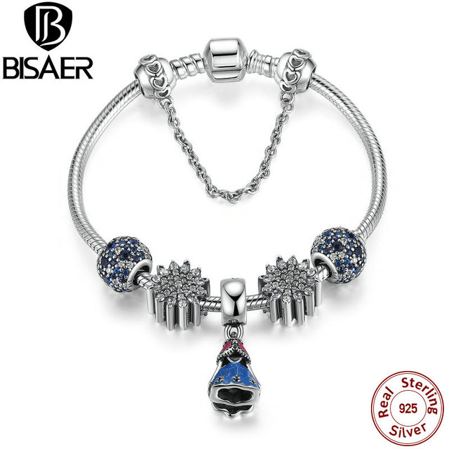 Original 925 Sterling Silver Snake Safety Chain Link Bracelet & Bangle Female Fashion Sterling Silver Jewelry Special Store