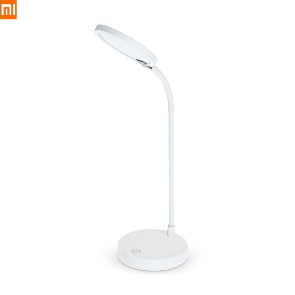 Xiaomi COOWOO LED Lampe de Bureau Tableau Intelligent Lampe Eye-protection Lumière Réglable 4000 mah Puissance 2USB Mobile Alimentation 100-240 v