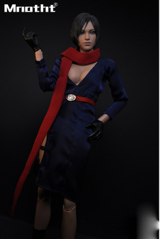 Buring Soul 16 Sexy Resident Evil 5 Cara Ada Wong Suit for 12inch Phicen Jodoll Verycool Action Figure DIY m3 Collection Toys mannequin
