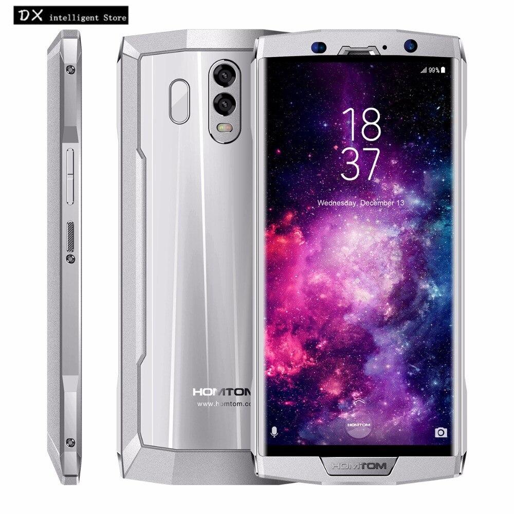 HOMTOM HT70 6.0 HD 18:9 Écran MTK6750T Octa-Core 10000 mah SmartPhone 4 gb + 64 gb 13MP + 16MP Double Caméra Android 7.0 d'empreintes digitales