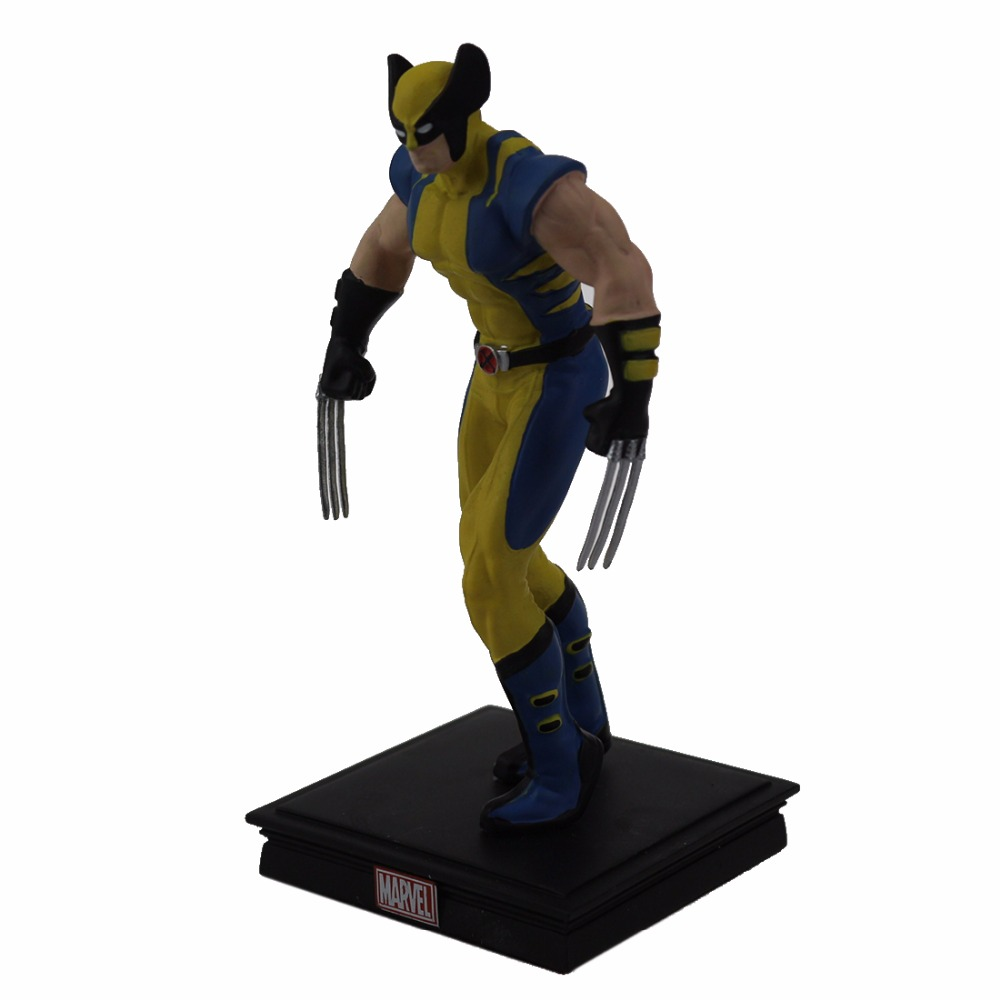 12CM Resin Crafts Wolverine Models Action Figure Marvel Collection Resin Craftwork Toys Gift For Sale With Package