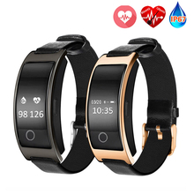 CK11S Smart Band Blood Pressure Oxygen Heart Rate Monitor Wristband Fitness Tracker Pedometer IP67 Waterproof Wristband PW123