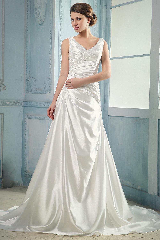 Beautiful Wedding Dress Silk Sketch - All Wedding Dresses ...