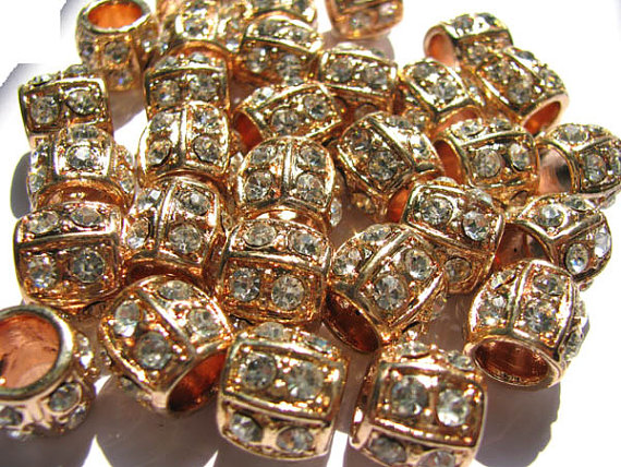 high quality larger hole barrel crystal ,metal &czech rhinestone spacer silver antique gold mixed jewelry beads 8x10mm 100pcshigh quality larger hole barrel crystal ,metal &czech rhinestone spacer silver antique gold mixed jewelry beads 8x10mm 100pcs