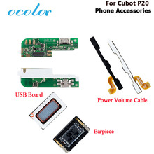 ocolor For Cubot P20 USB Board High Quality Replacement Part