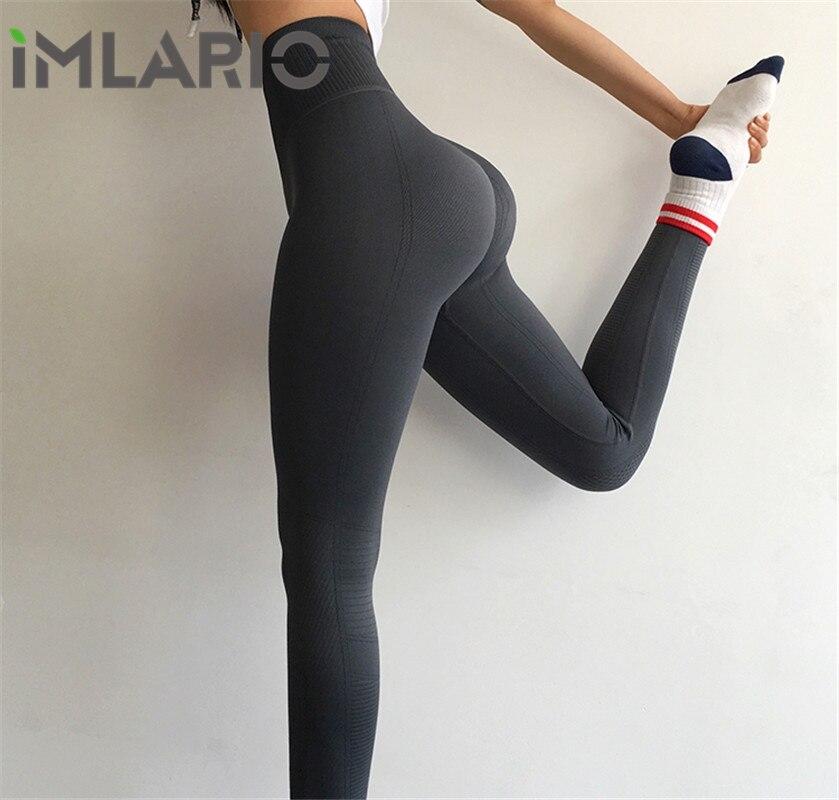 Leggings de Compressão sem Costura Legging para Mulheres Imlario Ginástica Fitness Emagrecimento Esportes Treinamento