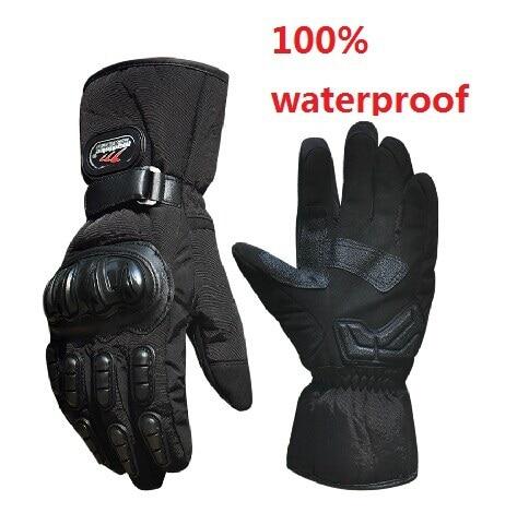 Motocross Motorbike Cycling MTB Winter Sports Warm Ski Windproof Waterproof Protective Motorcycle Gloves Knight