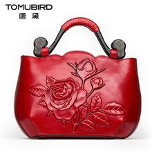 Genuine leather bag  Women bag  Fashion crocodile pattern shoulder Messenger Bag Luxury retro handbag
