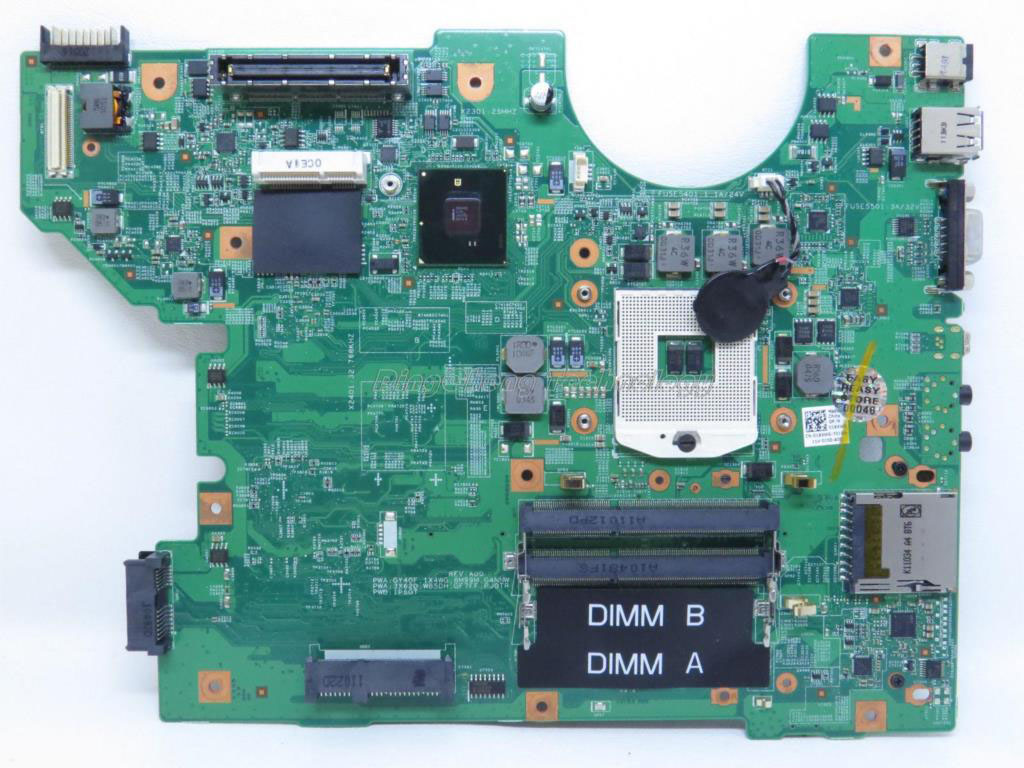 SHELI laptop Motherboard/mainboard for dell E5510 01X4WG CN-01X4WG 48.4EQ05.011 for intel cpu with integrated graphics card sheli laptop motherboard mainboard for lenovo b560 for intel cpu with integrated graphics card hm55 100