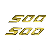 KODASKIN Motorcycle 3D Raise 500 Emblem Stickers Decal for Yamaha T-MAX500 TMAX500