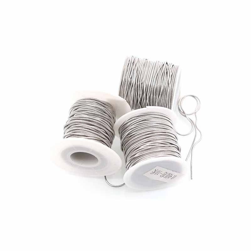 10 Yards/roll 304 Stainless Steel Snake Chain 0.9 1.2 1.5mm Hypoallergenic Bulk Link Chain For DIY Necklace Jewelry Accessories
