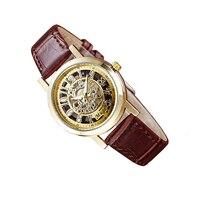 Elegant Arabic Numerals Ladies Quartz Watch Fashion Automatic Women Waterproof Leather Wristwatch Top Quality Business Guess