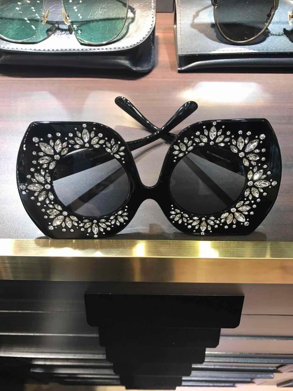 WD0638 2018 luxury Runway sunglasses women brand designer sun glasses for women Carter glasses