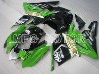Для Kawasaki NINJA ZX10R 2004 2005 04 05 Впрыска ABS Обтекатель Комплекты NINJA ZX 10R 04 05 Зеленый/Черный