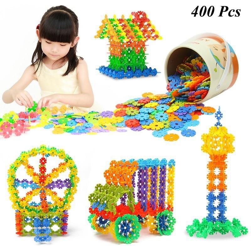 400Pcs Children Kids Magic Puffer Ball Fun Assembling Blocks Toys OPP Bag