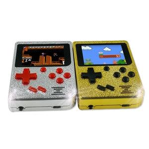 Image 4 - 129 jogos retro menino 2.4 polegada tela colorida handheld game console suporte a saída de TV