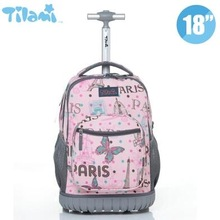Kids Rolling Luggage Backpacks Kid School Backpacks with whe