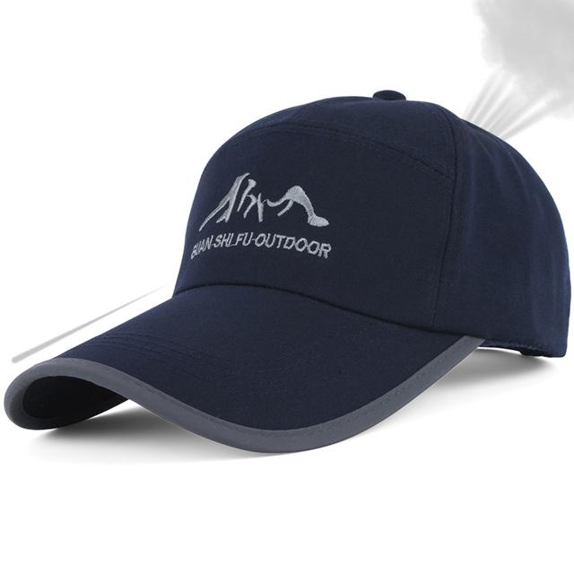 Primavera quinquagenário masculino cap esportes boné de beisebol do chapéu para o homem cap moda masculina outono e inverno ao ar livre cap longo