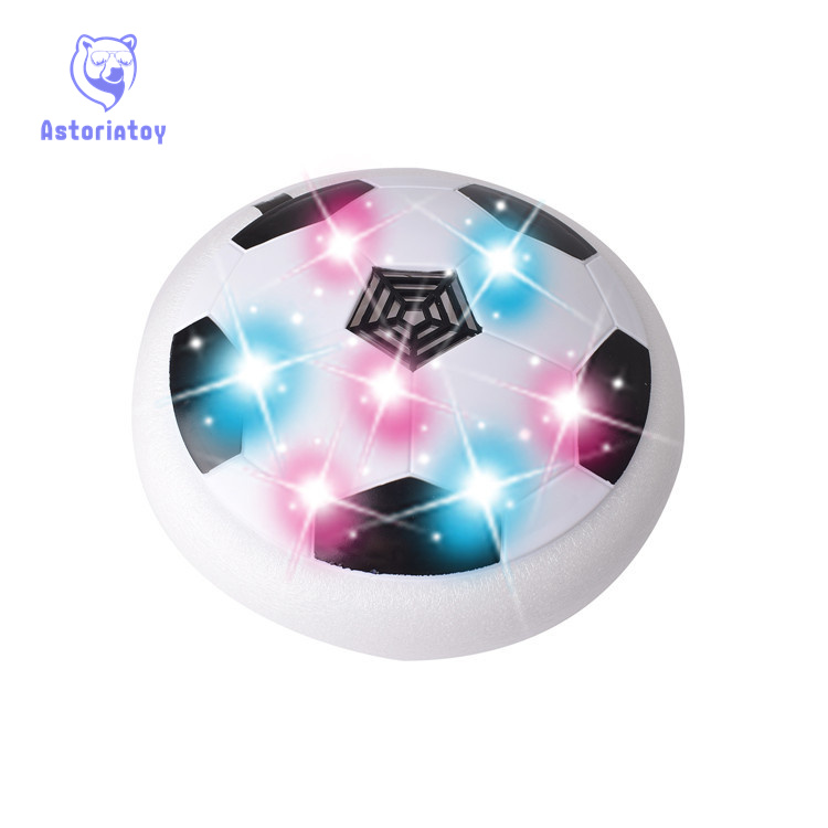 19.2cm New Arrival 1Piece Air Power Soccer Ball Disc Indoor Football Toy Multi-surface Hovering and Gliding Toy
