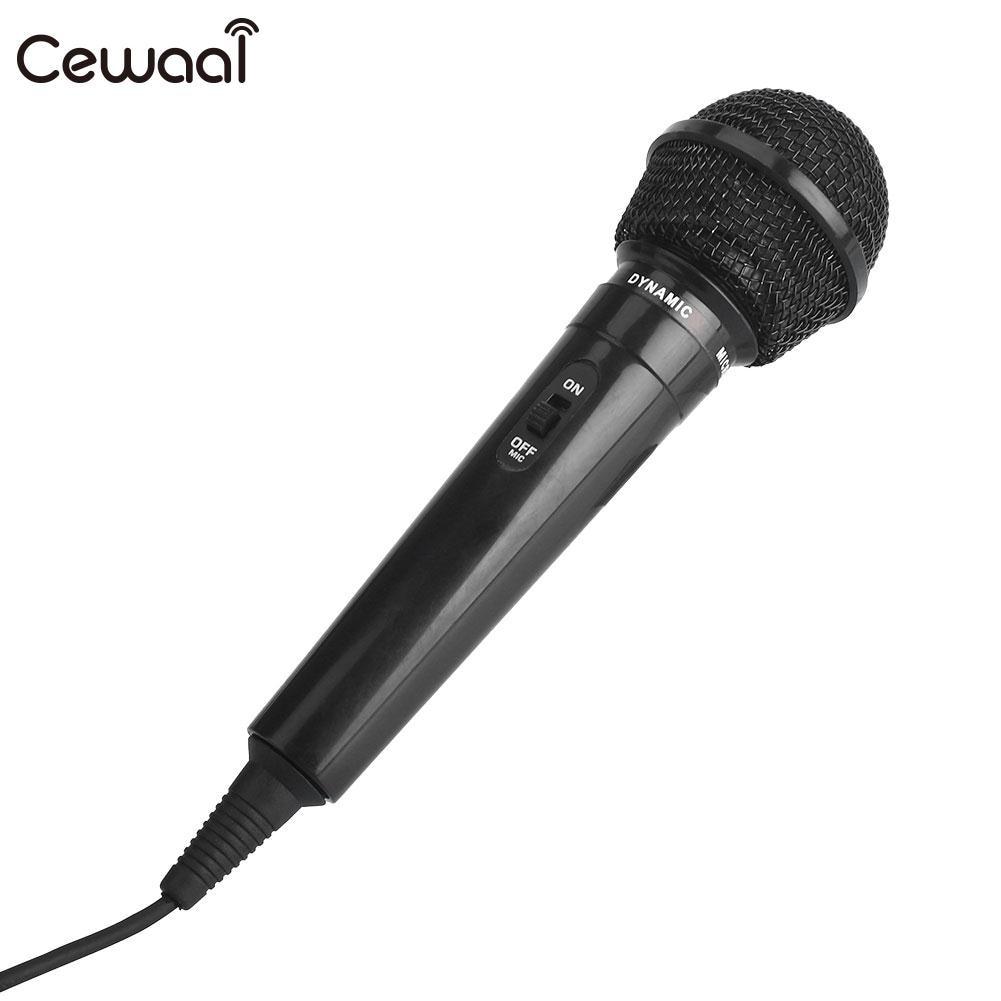 Черный проводной микрофон, вечерние, KTV запись, универсальный портативный, для выступлений на сцене, для общественного передатчика, МегаФон
