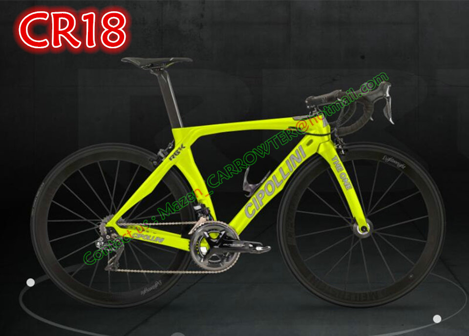 CR18 Silver decals Yellow fluo