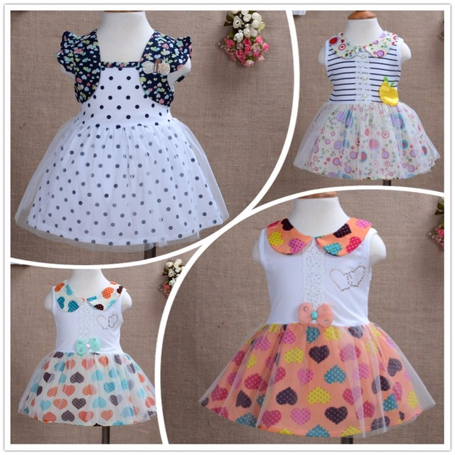 11c2a0c4d Baby Christening Party Summer Dress 2015 christmas gift 6 Months to ...