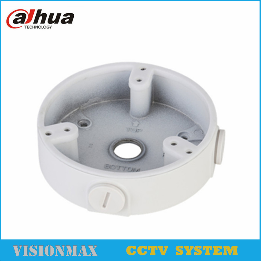 Dahua Waterproof Junction Box PFA137 for IP Camera IPC-HDBW4431R-S IPC-HDBW4431R-ZS CCTV Dome Camera housing CCTV Accessories wistino cctv camera metal housing outdoor use waterproof bullet casing for ip camera hot sale white color cover case