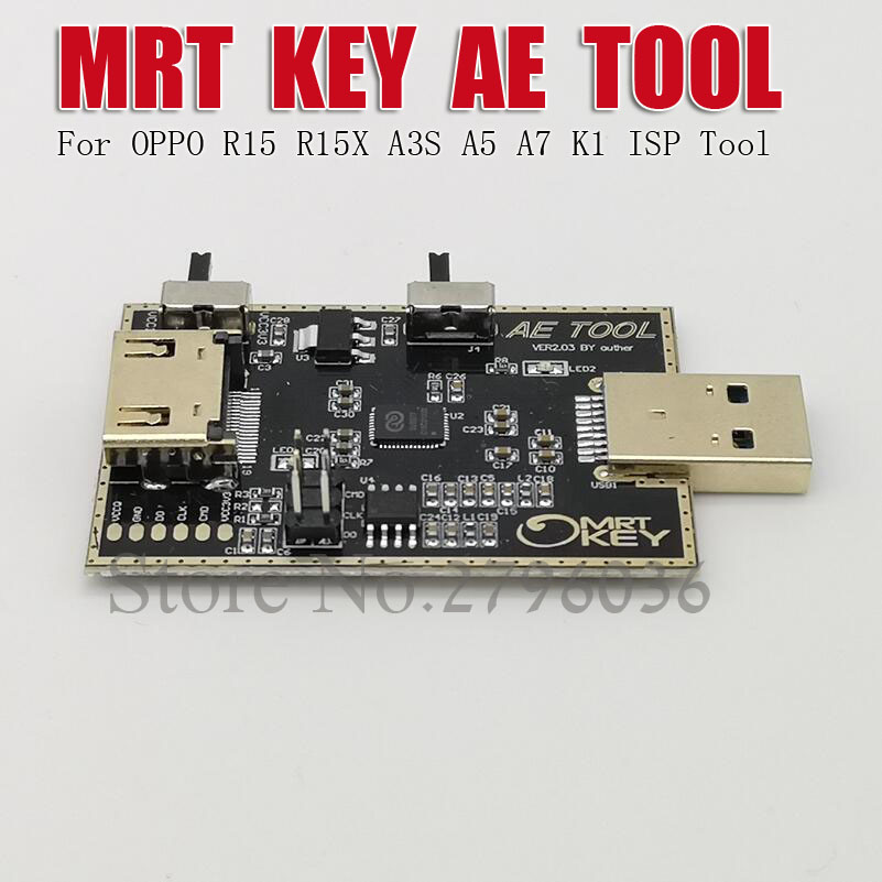 MRT Dongle AE outil AETOOL EMMC programmeur pour OPPO R15 R15X A5 A7 K1 fai outil - 2