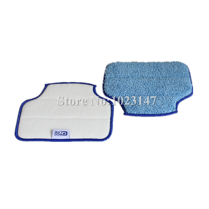 (4 pieces/lot) Mopping Cloth for Neato Robotics Botvac D85 D80 D75 85 70e Microfiber cleaning Pad 2 pieces lot glass microfiber cloth for robot hobot 168 hobot 188 microfiber cleaning cloth bayetas microfibra