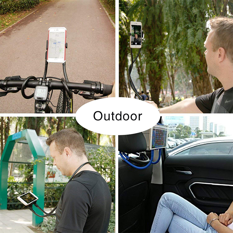 Mobile Phone Holders & Stands Mobile Phone Accessories Lazy Neck Phone Holder Stand For Iphone Universal Cell Phone Desk Mount Bracket For Samsung Xiaomi Flexible Phone Holder