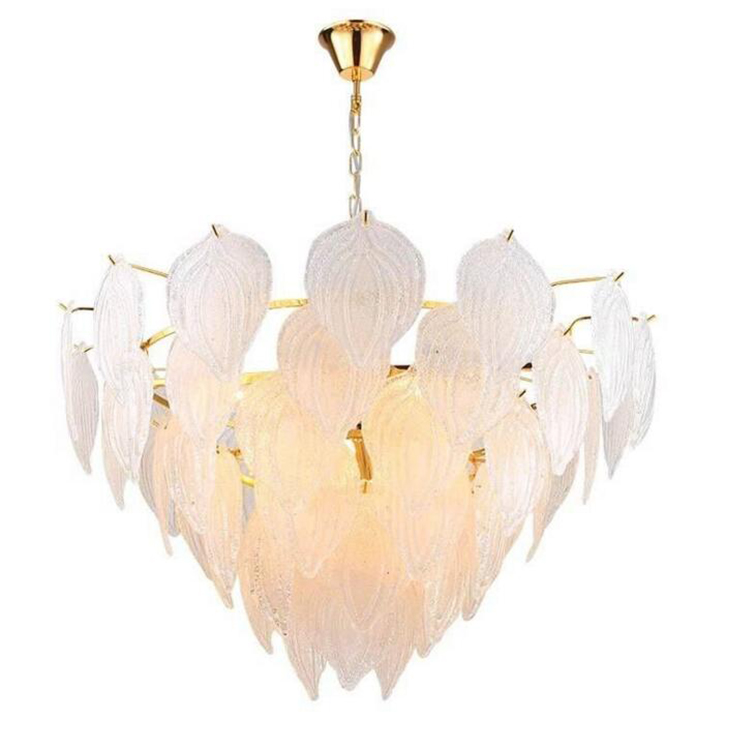 Gold American Style Retro Chandeliers Nordic Crystal Lighting For Living Room Bedroom Hall Hotel Restaurant Dining Room Fashion