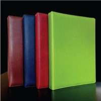 Wholesale New High Quality Table Top Soft Leather Restaurant Menu Holder Cover Wine List Display A4