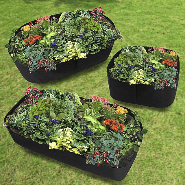 Cultivation Garden Pots Planters Vegetable Planting Bags Grow Outdoor Indoor Farm Home