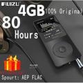 Ruizu X02 Flac Lossless Coche Mini Portátil de Alta Fidelidad Digital Audio Deporte Pantalla mp 3 reproductor de música mp3 4 gb fm radio apoyo tf sd micro