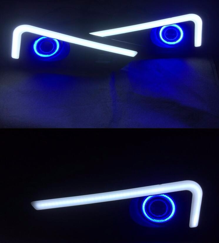 eOsuns Καινοτόμο COB Angel μάτι + LED ημερήσιο - Φώτα αυτοκινήτων - Φωτογραφία 4