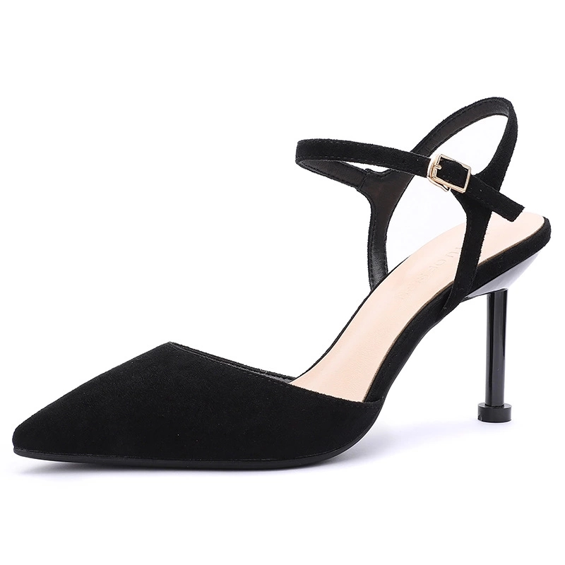 صندل كعب امرأة حذاء