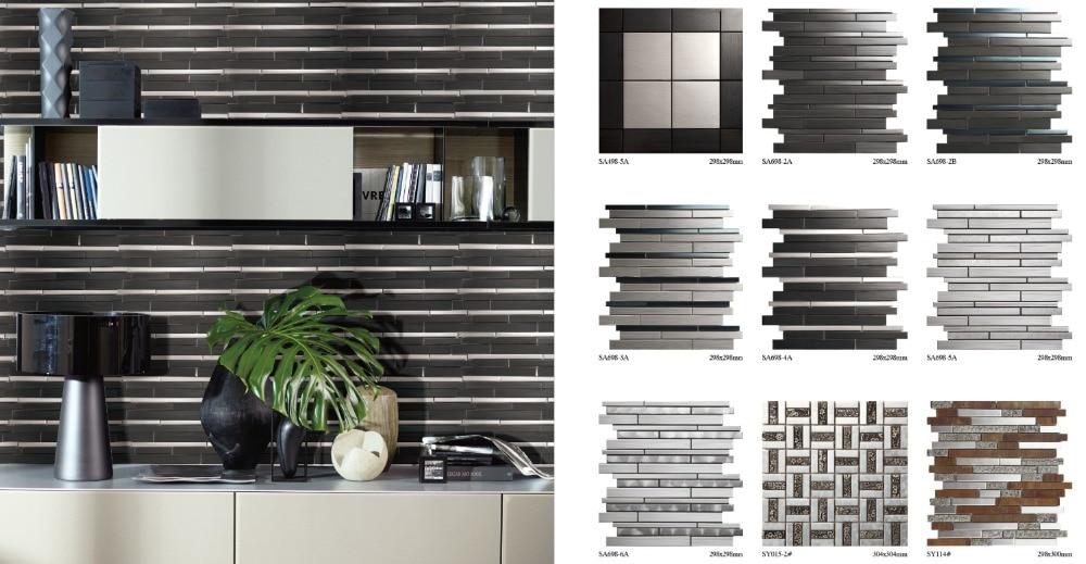 Moderne decoratie 3d tegels in je keuken. alles over de keuken