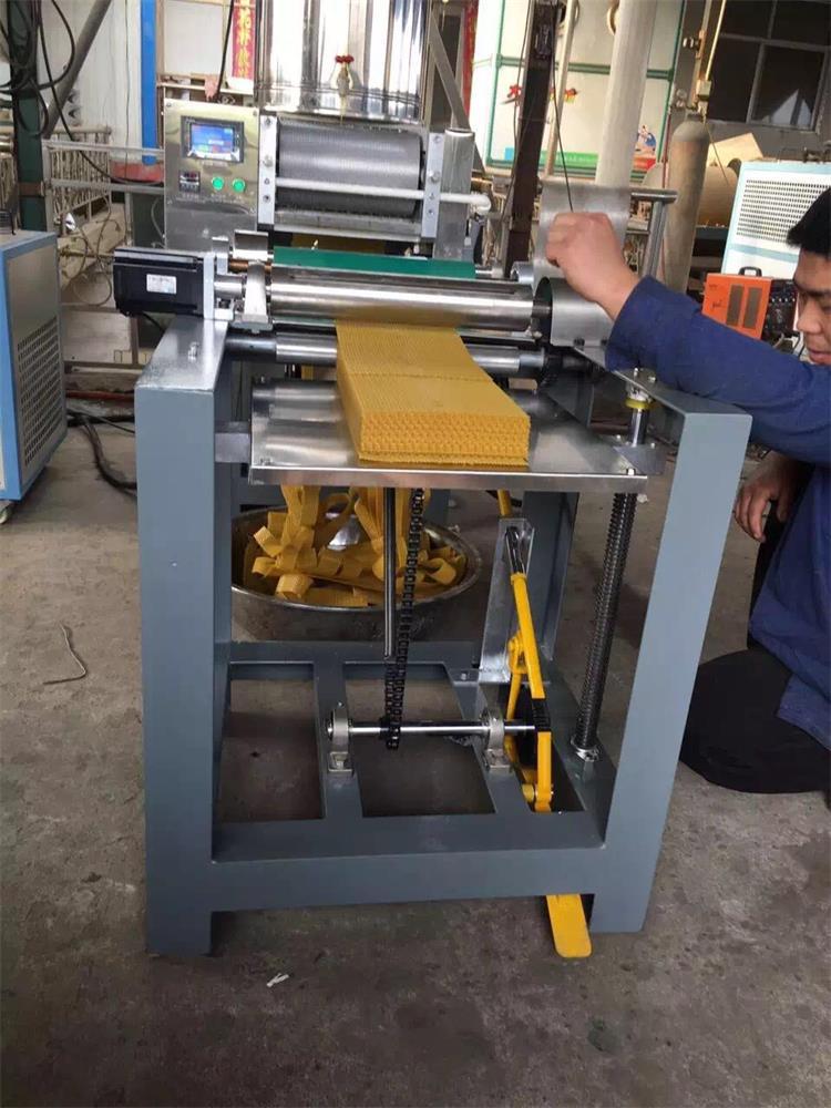 Full Automatic Beeswax Foundation Machine/Beeswax Foundation Sheet Machine