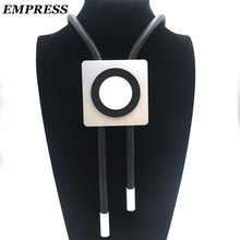 EMPRESS DIY Jewelry Handmade, Cube-Shaped Aluminum Pieces For a Collection Of Gothic Womenswear Claim To Be a Lucky Necklace.(China)