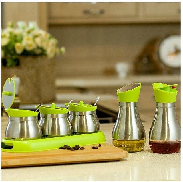 acheter verre pot pices bouteilles de condiments fournitures huile et le. Black Bedroom Furniture Sets. Home Design Ideas