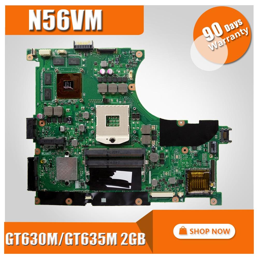 все цены на N56VM Motherboard GT630 2g For ASUS N56V N56VM N56VV N56VJ N56VB N56VZ Laptop motherboard N56VM Mainboard N56VM Motherboard