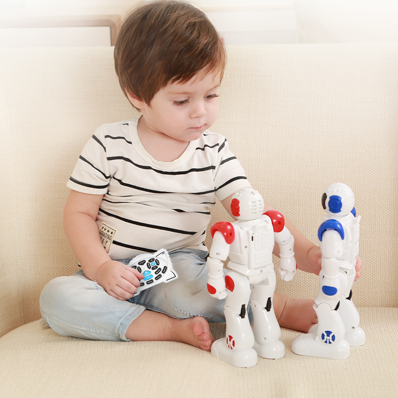 Image 5 - DODOELEPHANT RC Smart Robot Remote Control Robot Toy Action Figure With Gesture Function Toy For Boys Children Birthday Gift-in RC Robot from Toys & Hobbies