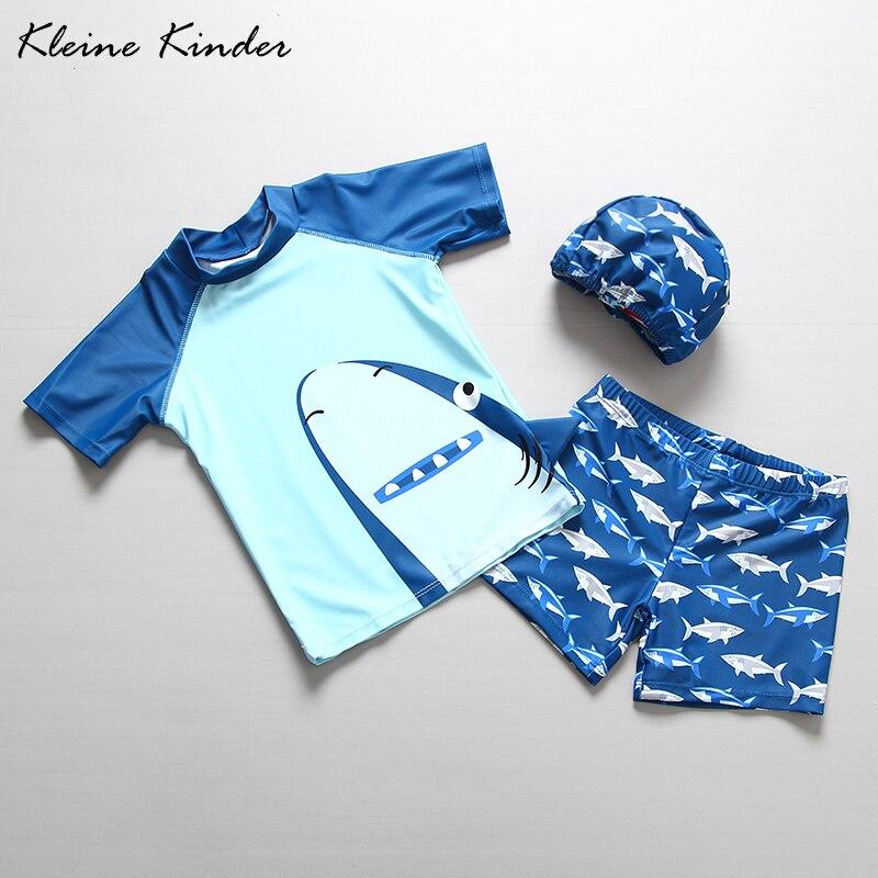 Children Swimwear Swimsuit For Boys Dinosaur Shark Cartoon Swimsuit Swimming Suit Kids UV Sun Protection Children's Bathing Suit