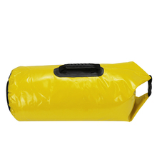 GZL Waterproof travel bags 40L men women hasp water resistant dry bag 500D PVC material big capacity travel duffel yellow TB0033