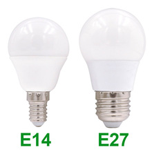 E27 E14 LED Bulb Lamps 220V Led Light Bulb Smart IC E27 E14 Real Power 3W 5W 7W 9W 12W 15W High Brightness Lampada LED Bombillas